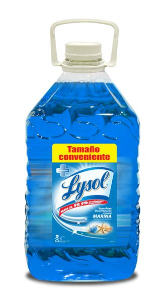 Lysol® Superficies Desinfectantes Marina 5 Lts
