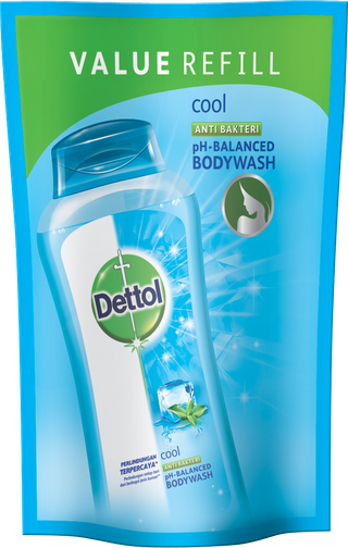 Sabun Cair Anti Bakteri Dettol Cool (250ml)