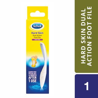 SCHOLL HARD SKIN DUAL ACTION FOOT FILE