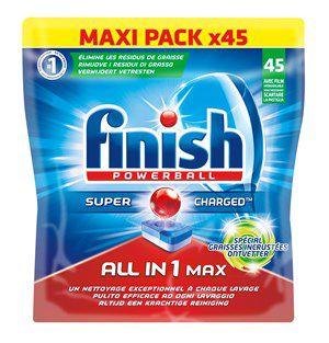 Finish Tout en 1 Max*Spécial Graisses Incrustées