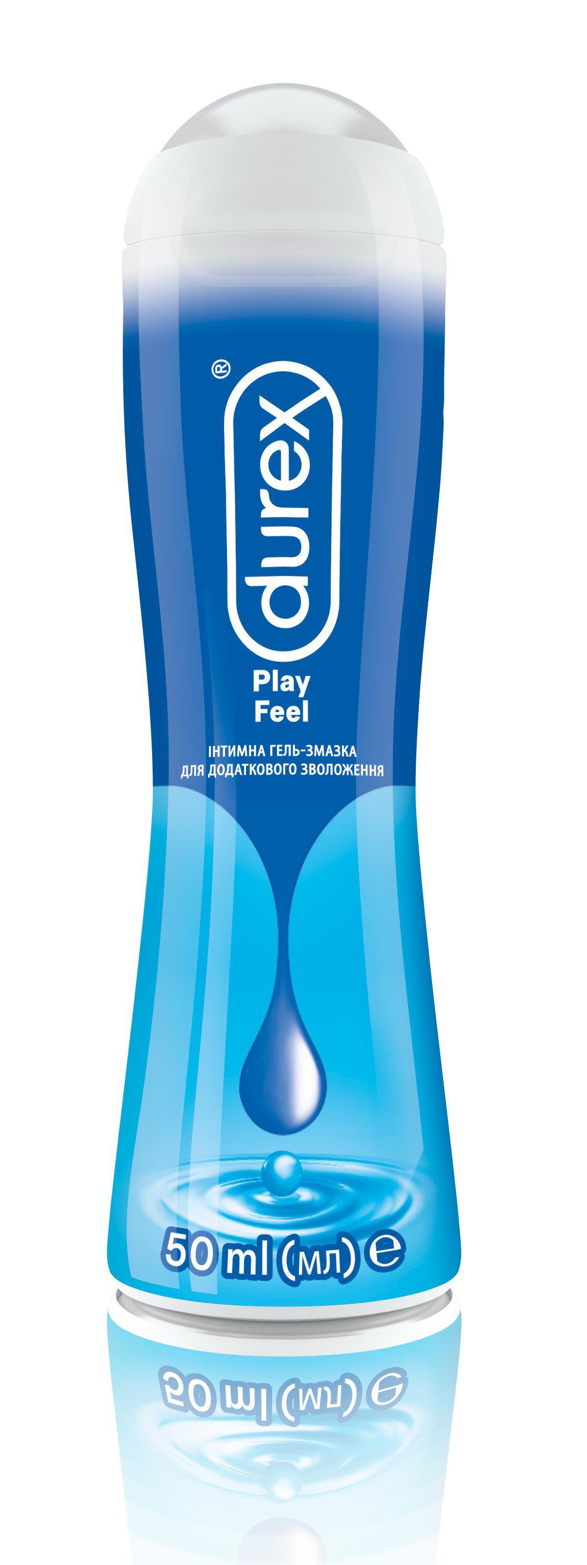 Intymna hel zmazka Durex Play Feel, 50ml