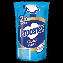 Limpiador Líquido Vidrios Repuesto Procenex 420 ml