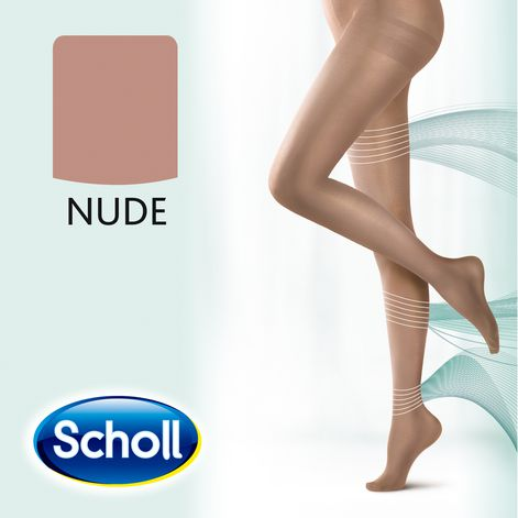 Scholl Small Light Legs Compression Tights 20 Den Nude