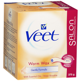 Veet® Warm Wax with Essential Oils - Gentle Formula
