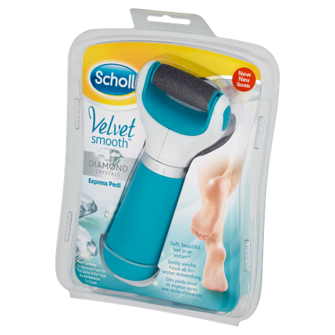 Scholl Velvet Smooth Express Pedi Extra Coarse with Diamond Crystals