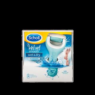 Scholl Velvet Smooth™ Wet & Dry atkārtoti uzlādējama pēdu vīle