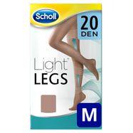Medias de compresión ligera Scholl Light Legs 20 DEN color carne M