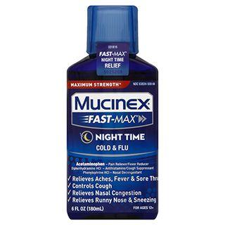 Mucinex® Fast-Max® Night Time Cold & Flu Liquid