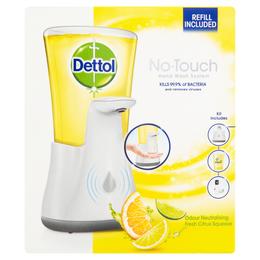 Dettol No Touch Gadget + Citrus Refill