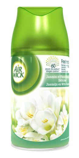 AirWick Recharge Freshmatic Max Jasmin et Fleurs Blanches Délicates ¹