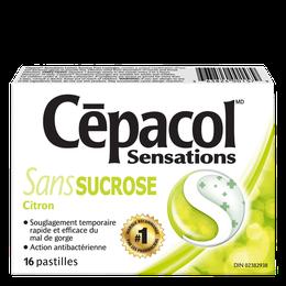 Cépacol Sensations – sans sucrose citron
