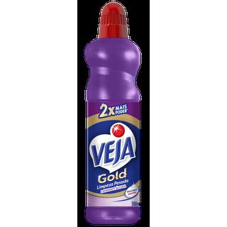 Veja Gold Limpeza Pesada Lavanda e Alcóol Embalagem 500ML