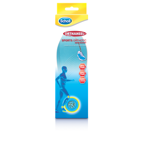 Scholl Orthaheel Orthotics Sports Small