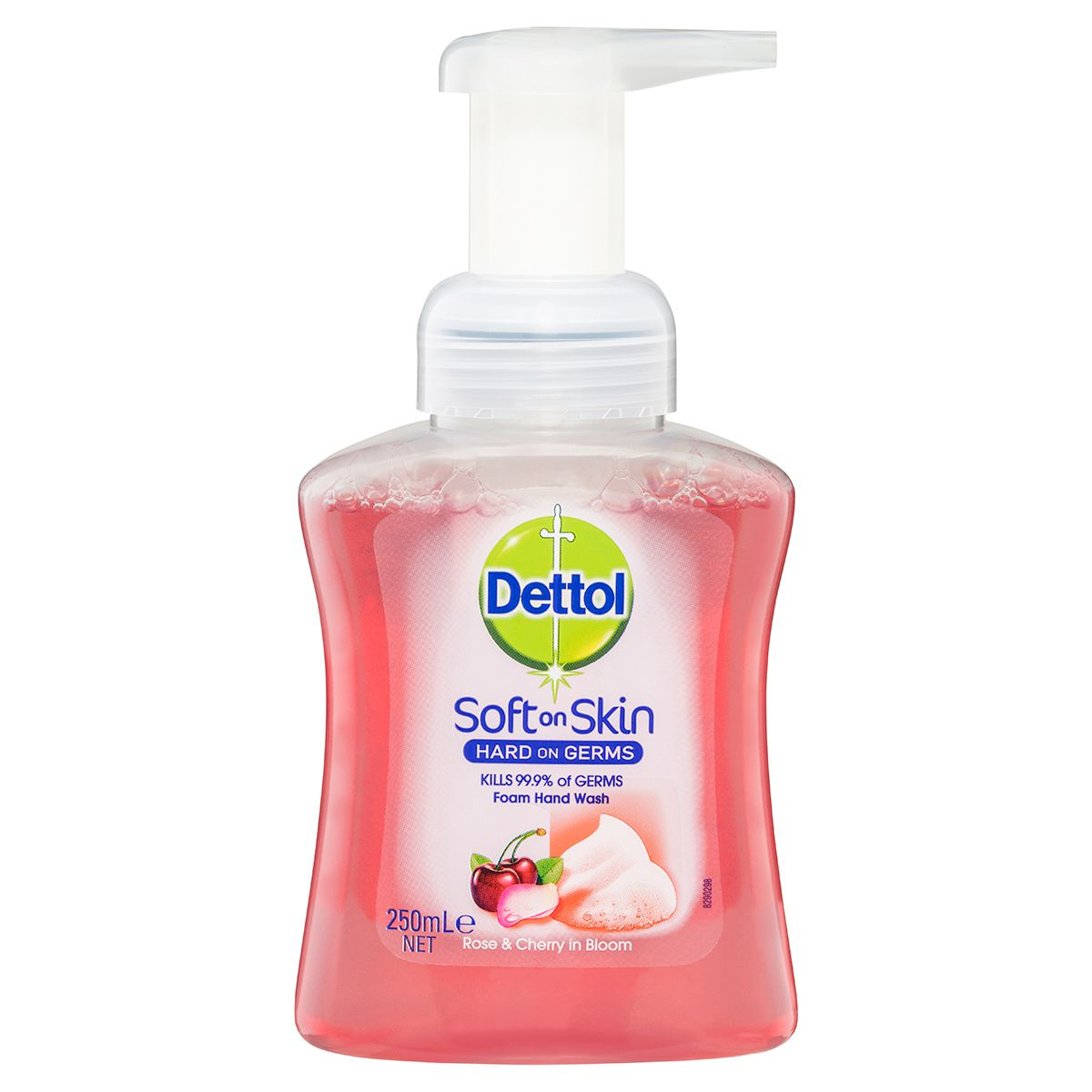 Dettol Foam Hand Wash Rose and Cherry in Bloom Pump 250ml