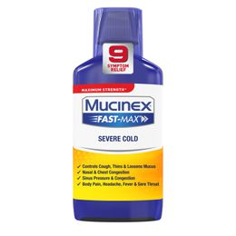 Maximum Strength* MUCINEX® Fast-Max® Severe Cold (liquids)