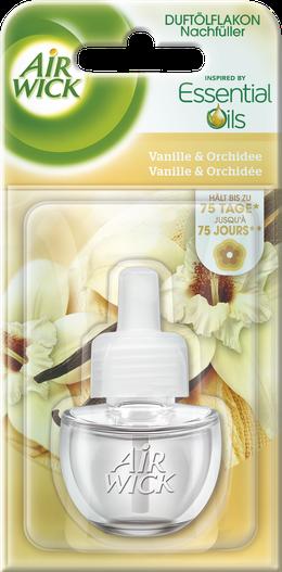 Air Wick Flacon d'Huile Parfumée Vanille & Orchidée