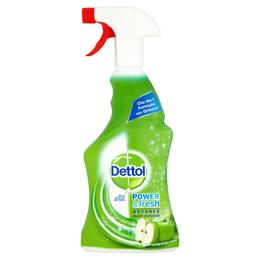 Dettol Power & Fresh Advance Antibacterial Multi-Purpose Spray - Green Apple
