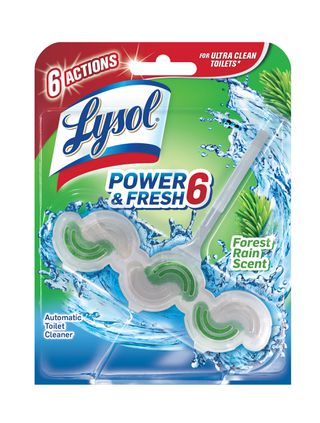 Lysol Power & Fresh 6 Automatic Toilet Bowl Cleaner - Forest Rain