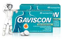 Gaviscon® Mint Kautabletten Jetzt auch mit Erdbeer-Geschmack!