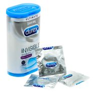 Durex Invisible Extra Lubricated Condoms 12 Pack