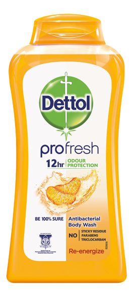 Dettol Re-Energize Antibacterial Body Wash