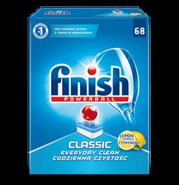 Tabletki do zmywarki Finish Classic Cytrynowy
