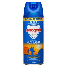 Aerogard Heavy Duty 40% Deet 300g