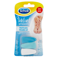Scholl Velvet Smooth Nail Care System Refills Blue