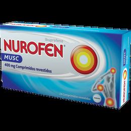 Nurofen Musc 400mg Comprimidos revestidos