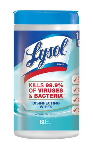 Lysol Disinfecting Wipes - Ocean Fresh