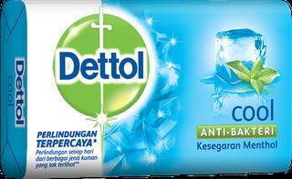 Sabun Anti Bakteri Dettol Cool (65g)