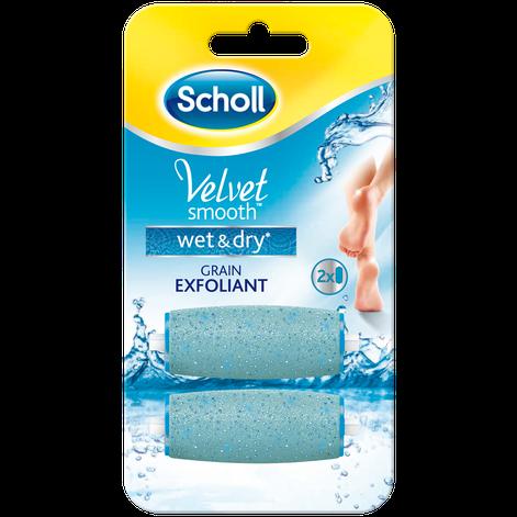Rouleaux De Remplacement Scholl Velvet Smooth™ Wet & Dry™