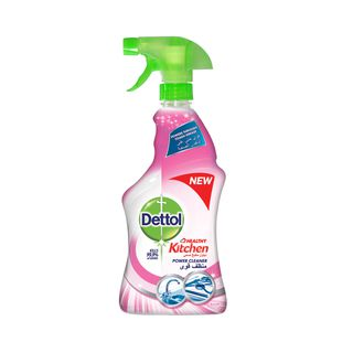 Dettol Healthy Kitchen Power Cleaner Trigger Spray Rose 500ml