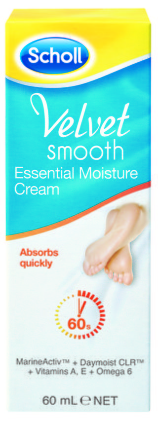 Scholl Velvet Smooth Essential Moisture Cream