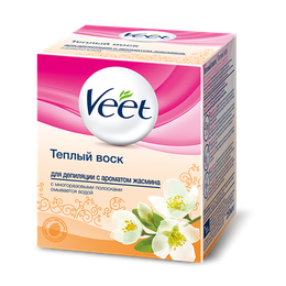 Тёплый воск для депиляции Veet с ароматом жасмина