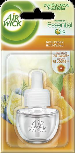Air Wick Flacon d'Huile Parfumée Anti-Tabac