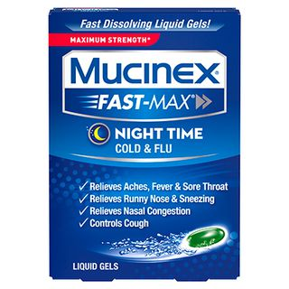 Mucinex® Fast-Max® Night Time Cold & Flu Liquid Gels