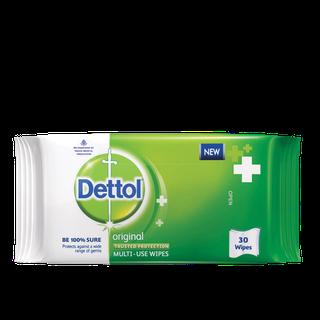 Dettol Multi-Use Original Wipes 30 Pcs
