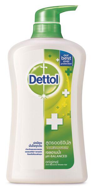เดทตอล เจลอาบน้ำ แอนตี้แบคทีเรีย สูตรออริจินัล 400ml