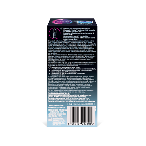 Durex Preservativos Climax Mutuo 12 unidades