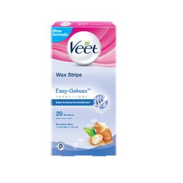 Veet® Wax Strips untuk Kulit Sensitif