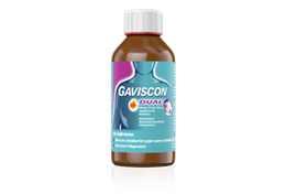 Gaviscon Dual Suspension 300 ml Flasche