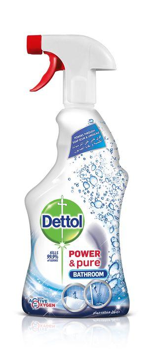 بخاخ ديتول قوة ونقاوة منظف الحمامات