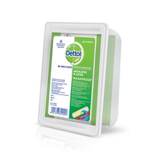 Dettol Medicated Plaster Wash Proof