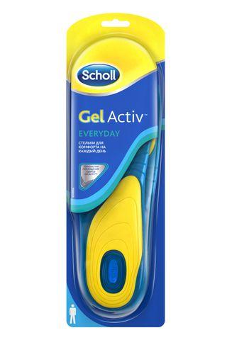 Стельки для комфорта на каждый день для мужчин Scholl GelActive Everyday