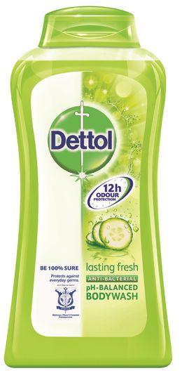 Dettol Lasting Fresh Antibacterial pH-Balanced Body Wash
