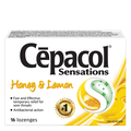 Cepacol Sensations - Honey & Lemon