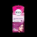 Восковые полоски для лица Veet Suprem' Essence c ароматом бархатной розы и эфирными маслами с технологией Easy-Gelwax