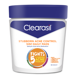 CLEARASIL® Stubborn Acne Control 5in1 Daily Pads 6/90 ct.