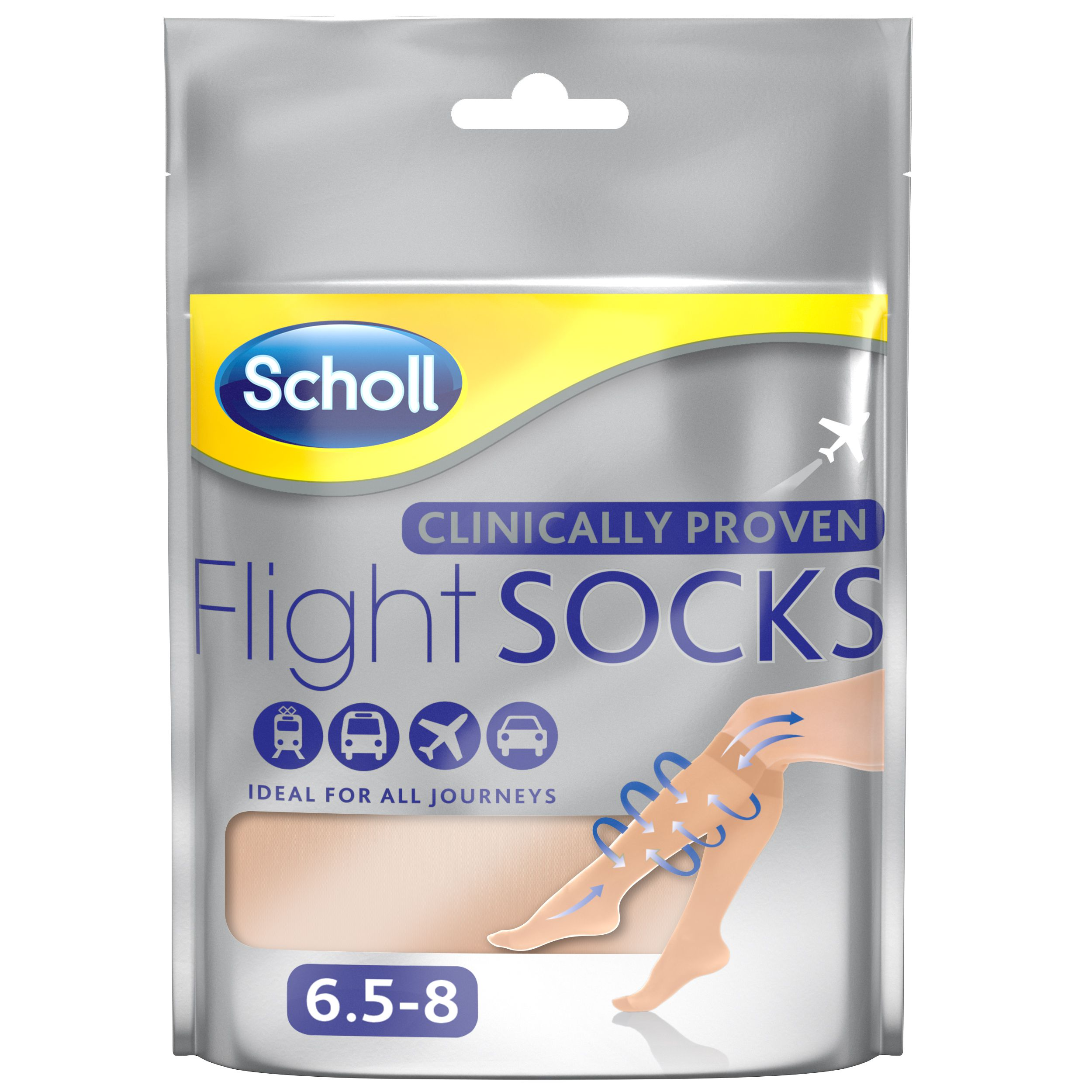 Flight Socks Sheer 6.5-8
